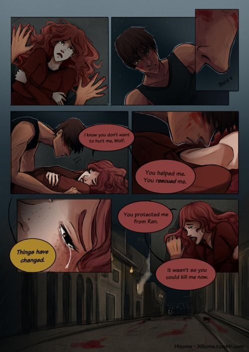 Wolf & Scarlet (1) <<<<The feels during these
