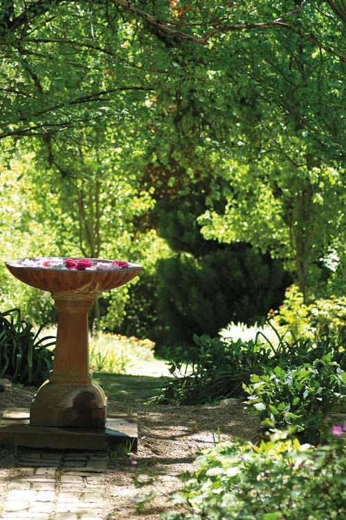 """Inspiring artist Hans Heysen for more than 50 years, """"The Cedars"""" in the Adelaide Hills is a wondrous garden of towering eucalypts, old-fashioned roses, poppies and lilacs."""