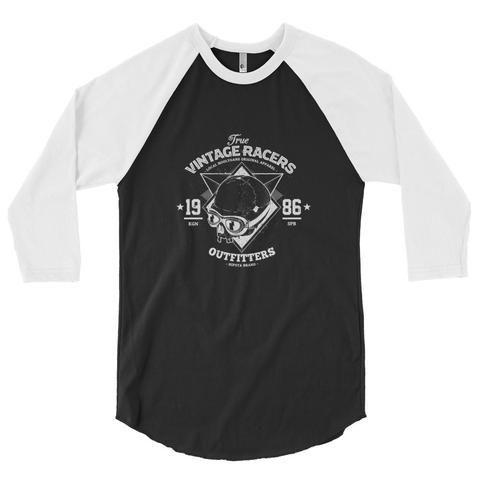 3/4 Vintage Racer Raglan Shirt