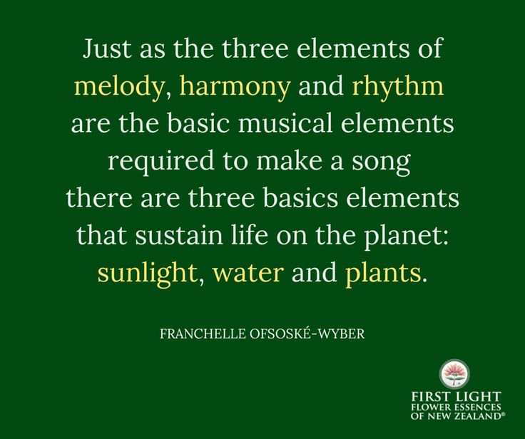 Just as the three elements of melody, harmony and rhythm are the basic musical…
