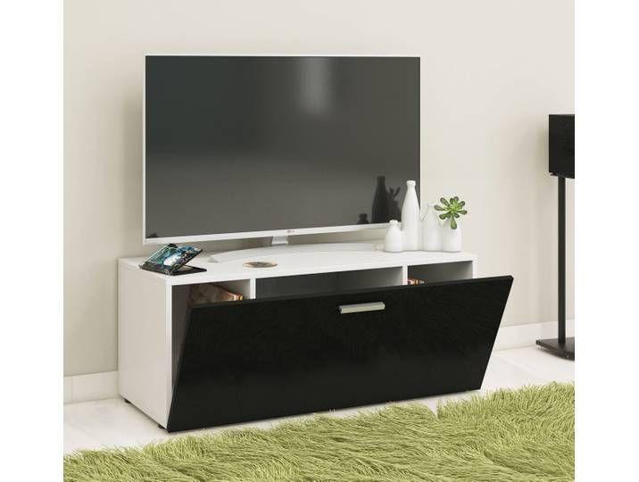 Vcm Tv Lowboard Winalo Schwarz B 95cm Weiss Schwarz Tv