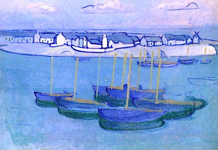 Douarnez/ Seascape, 1910, Rossi, Gino (1884-1945)