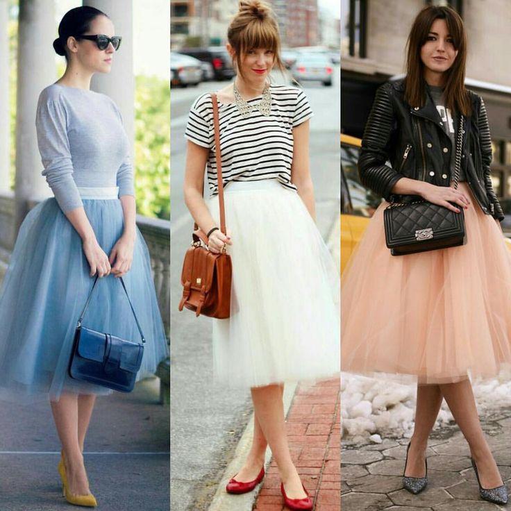 Elas parecem princesas ultra modernas, não? Com a saia de tule, o look ganha…