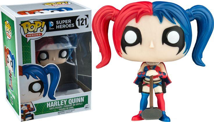 Harley Quinn with Mallet Funko Pop!   Batman Exclusive Vinyl Figure   Popcultcha