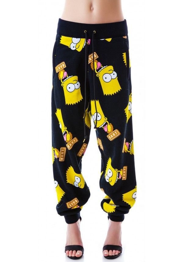 Yes, I would absolutely wear these. -  Joyrich Bart Face Sweat Pants