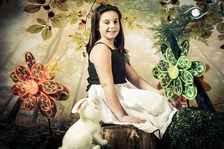 Martina as Alice in wonderland