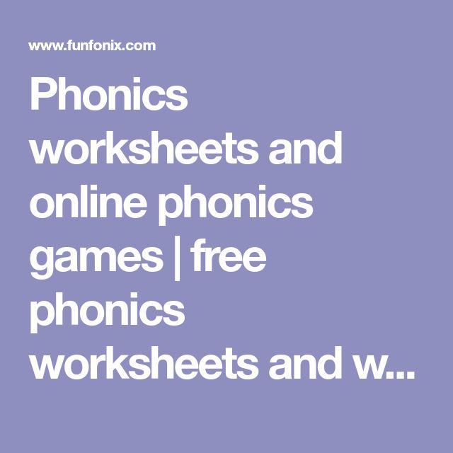 Best 25+ Free phonics worksheets ideas on Pinterest Phonics - phonics worksheet
