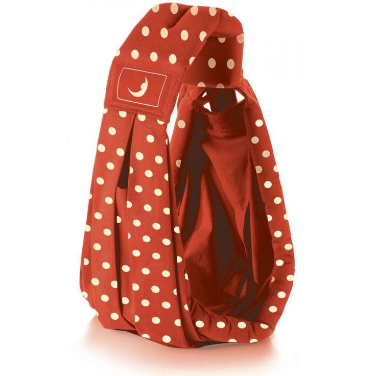 The BabaSling Kanguru Classic Polka Red