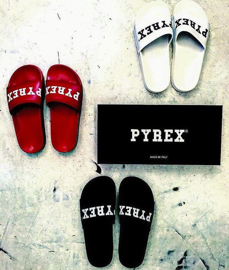 SLIPPERS #new #collection #pyrex #pyrexoriginal #springsummer16 #nothingbetter #slippers #summerwithpyrex #pyrexstyle #streetstyle #godsavethestreet