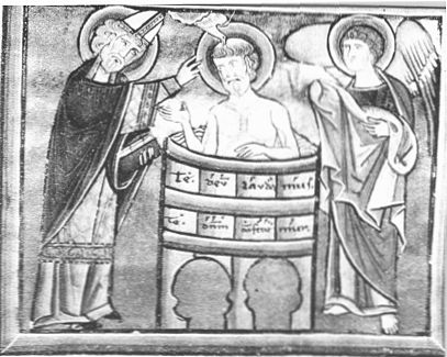 battesimo di Sant'Agostino