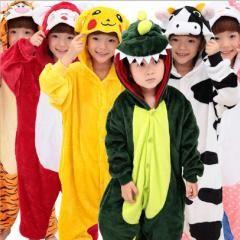 [ 19% OFF ] Flannel Kid Adult Pajamas Blanket Sleeper Animal Sleepwear Jumpsuit Romper Children Sleeping Bag Unicorn Onesie Home Clothes