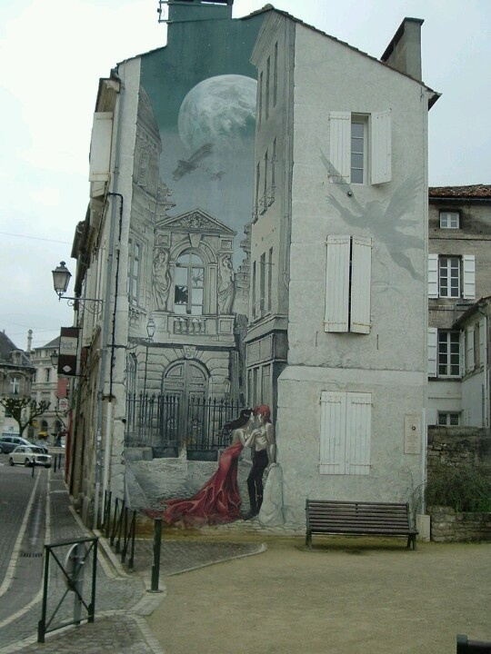 Angouleme France street art
