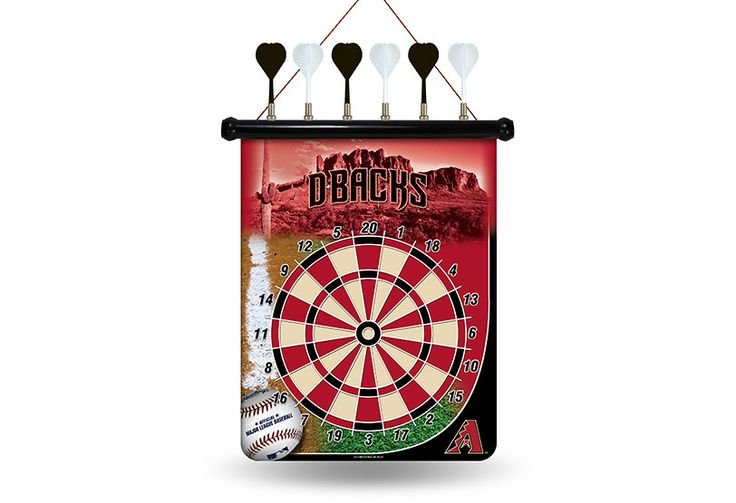 MLB Arizona Diamondbacks Magnetic Dart Board