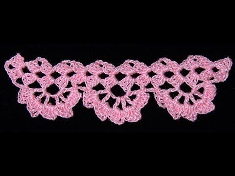 ▶ Crochet : Borde # 9 - YouTube