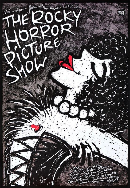 Marta Szmyd, The Rocky Horror Picture Show, 2016, Size: B1