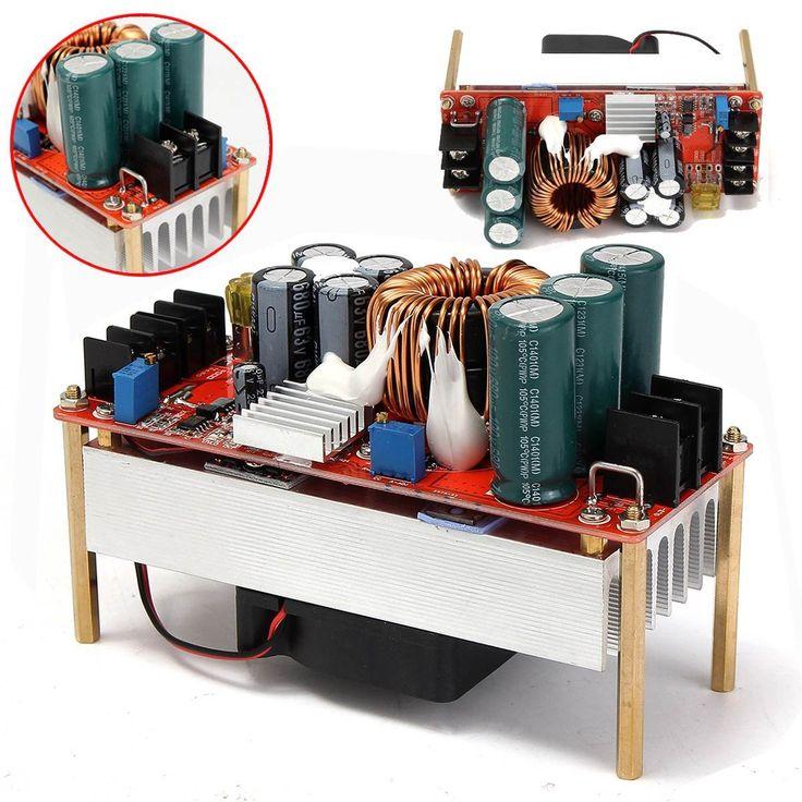 $49.78 (Buy here: https://alitems.com/g/1e8d114494ebda23ff8b16525dc3e8/?i=5&ulp=https%3A%2F%2Fwww.aliexpress.com%2Fitem%2F1500W-30A-DC-Boost-Converter-Step-up-Power-Supply-Module-New-Electric-Unit-Modules-Module-In%2F32720356149.html ) 1500W 30A DC Boost Converter Step-up Power Supply Module New Electric Unit Modules Module  In 10~60V Out 12~90V for just $49.78