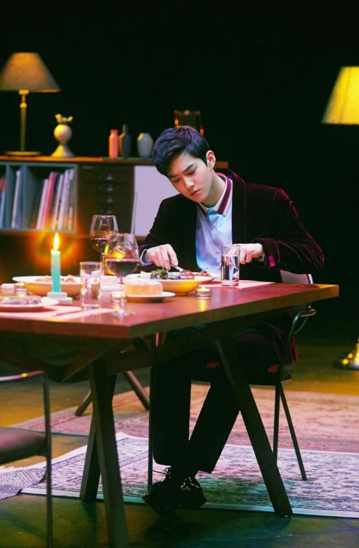 """Suho """"dinner"""""""