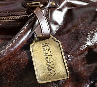 Pottery Barn leather & brass luggage tag $3.99 shipped on 12/31 only #LavaHot http://www.lavahotdeals.com/us/cheap/pottery-barn-leather-brass-luggage-tag-3-99/56815