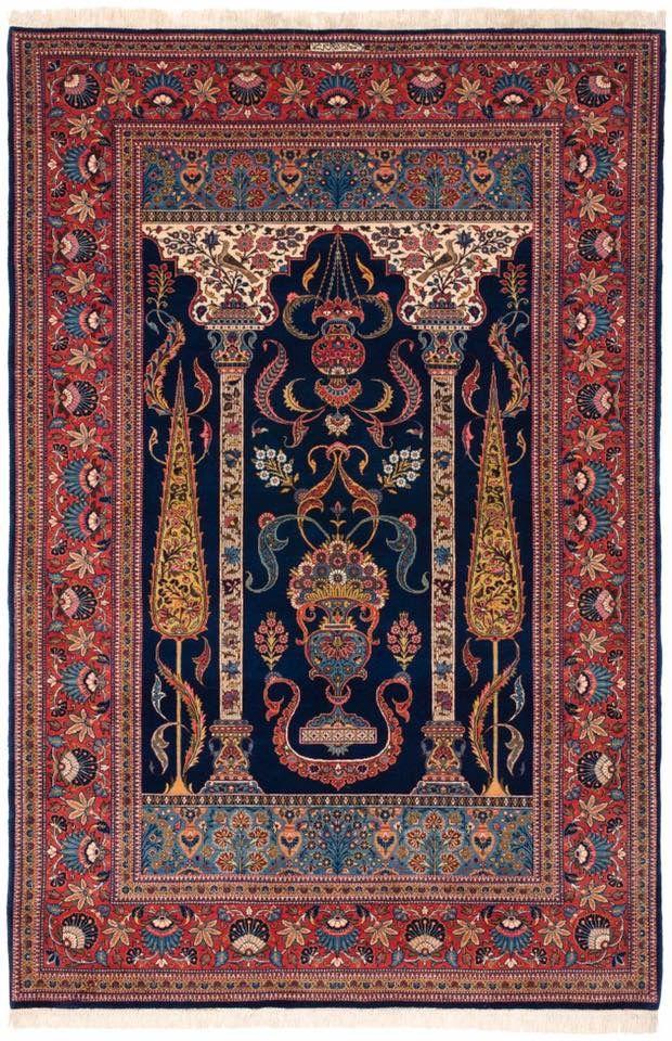 100 years old Kashan, Persian Carpet