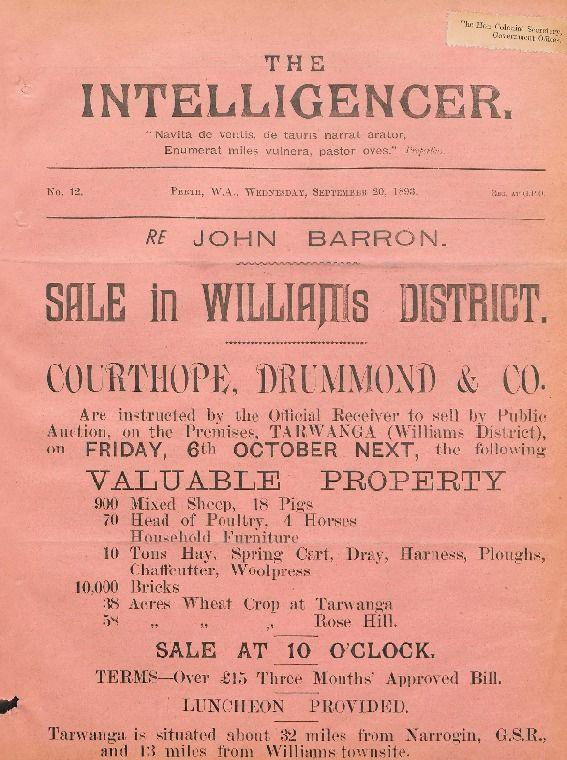 The intelligencer, 1893. http://encore.slwa.wa.gov.au/iii/encore/record/C__Rb1852238__SIntelligencer__Orightresult__U__X8?lang=eng&suite=def