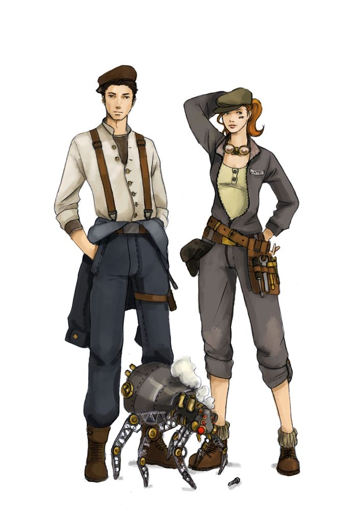 15 Best Images About Steampunk Archetypes On Pinterest
