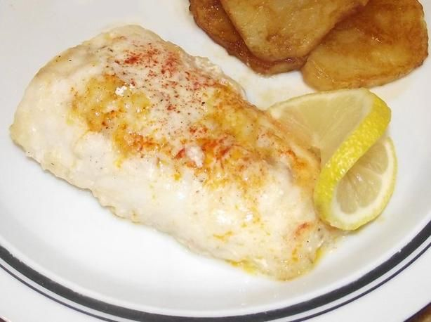 Lemon Baked Cod (Ovnsstekt Torsk Med Sitron) - In Norway this dish is served with parleyed baby potatoes and cold cucumber salad. - this was sooooo yummy!! Also so easy to make.