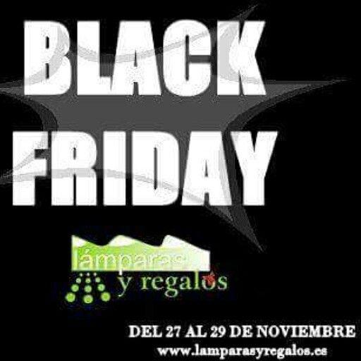 Black Friday en lamparas y regalos 27, 28 y 29 de noviembre. Gastos de envío gratis. →→→→ www.lamparasyregalos.es #blackfriday #viernesnegro #gratis #viernes #sabado #domingo #noviembre #lamparas #regalos #lamparasyregalos #decoracion #hogar #casa #estilo #moda #tendencia #decohogar #españa #paratodaespaña #madrid #barcelona #donosti #coruña #murcia #sevilla