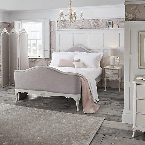 25 best upholstered bed frame ideas on pinterest grey upholstered headboards upholstered. Black Bedroom Furniture Sets. Home Design Ideas