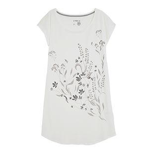 Noční košile Bílá