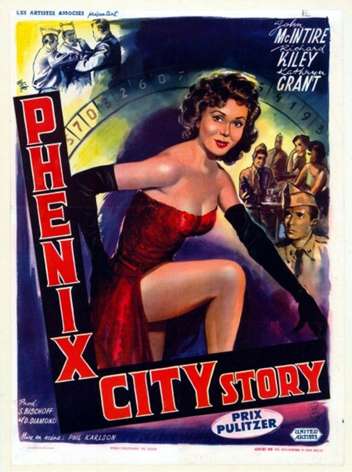 The Phenix City Story - Phil Karlson - 1955 - starring John McIntire, Richard Kiley and Kathryn Grant