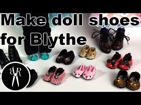 Blythe shoes - YouTube