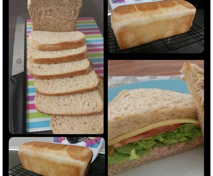 Recipe JUMBO 900G WHOLEMEAL BREAD by ThermomummaLailahRose - Recipe of category Breads & rolls