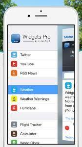 """http://networkinprogress.com/app-in-offerta-del-1122014/ #ios #app #apple WIDGETS PRO da 1.79€ a  0.89€ . Su """"App in Offerta"""" siamo sempre alla ricerca di applicazioni che potrebbero appassionare una folta porzione di utenti. In questo caso segnaliamo un utility app che già in passato ci ha fatto visita su questa rubrica. La pura e concreta possibilità di personalizzare il nostro dispositivo iOS, in particolare la tendina a scomparsa."""