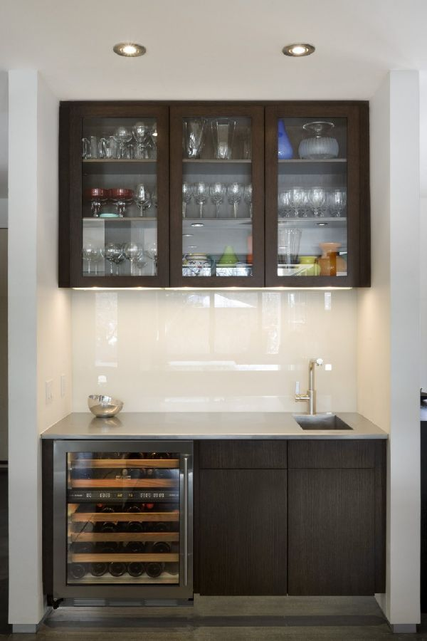 Storage Organization Idea in Design House Spectacular with Minimalist Interior in Boulder, Colorado