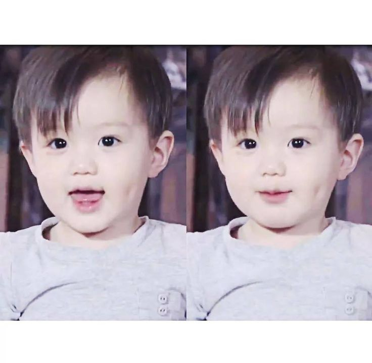This kid is gonna be a star someday #taeho #ohmybaby