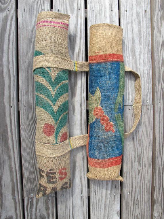 25 best ideas about burlap coffee bags on pinterest for Burlap sack decor