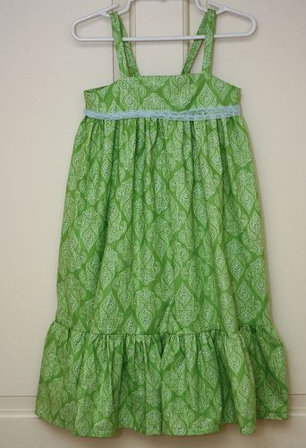 Toddler Maxi Dress and Shrug Tutorial (Can be upsized to a 10-12)