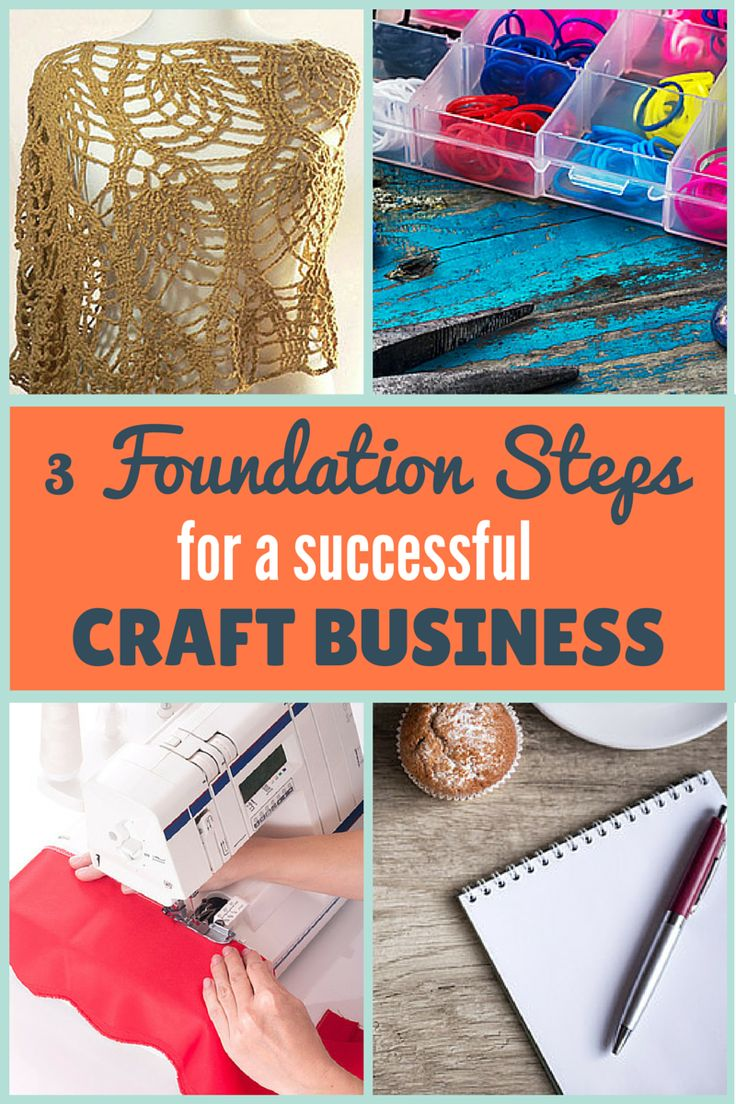 Creating an online craft business that earns enough to support a family is tough! Here are 3 foundation steps that will help make the journey a whole lot easier for you. Read more here at craftercoach.com