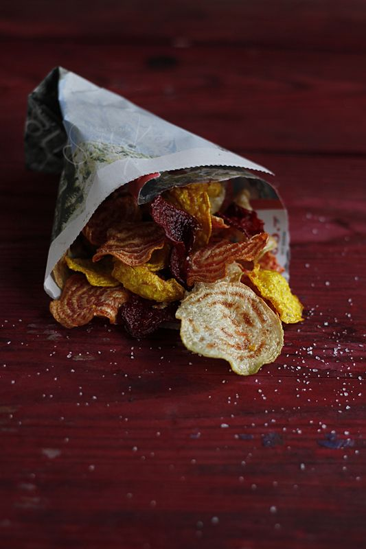 mandulasarok: Cékla chips