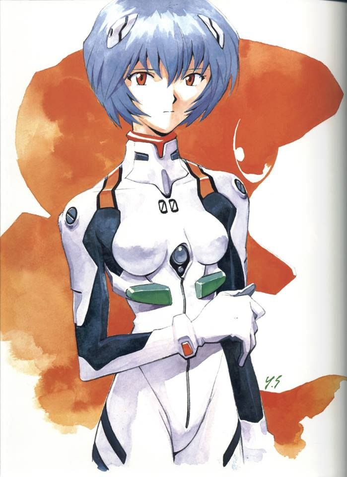 Neon Genesis Evangelion - Rei Ayanami by Yoshiyuki Sadamoto