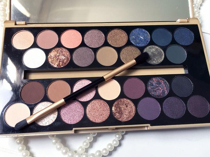 Het Fortune Favours the Brave palette van Makeup Revolution, budgetproof en van hoge kwaliteit! #budgetproofmakeup #fortunfavoursthebrave #eyeshadowpalette #makeuprevolution