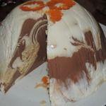 """Творожный торт """"Мраморный"""""""