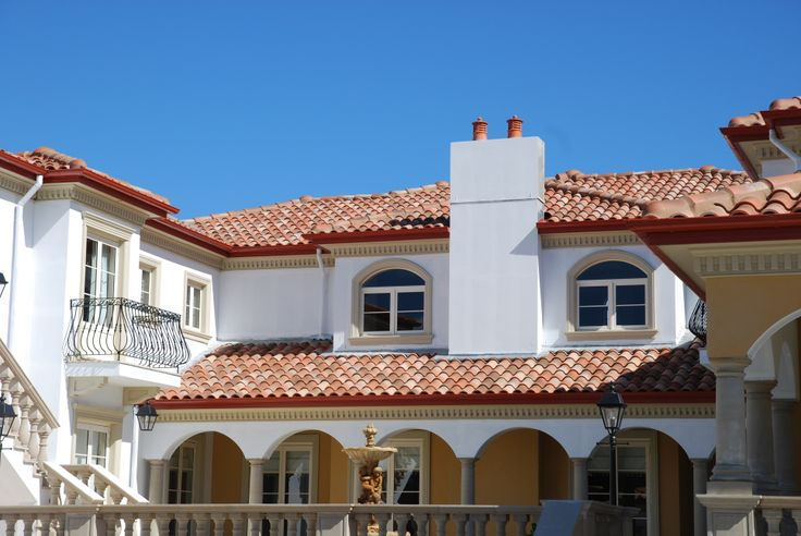 Features Curvado range in Galia from Bristile Roofing
