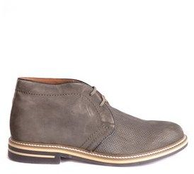Brimarts Men's Green Suede Ankle Boots.