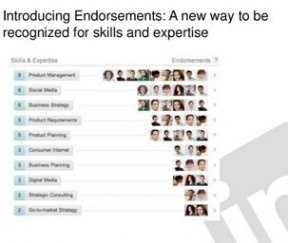 how to ask for skill endorsements on linkedin
