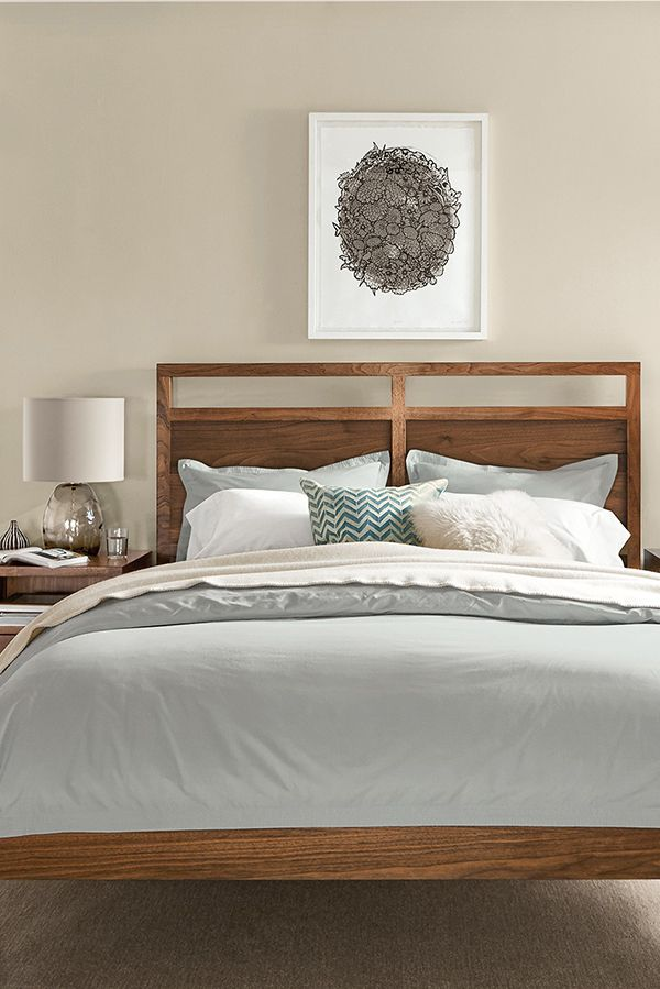 Inspired by Asian design details with a modern edge, the form of our Berkeley bed bridges classic and contemporary styles.