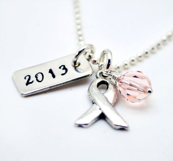 Cancer Survivor Necklace Personalized by LoveItPersonalized