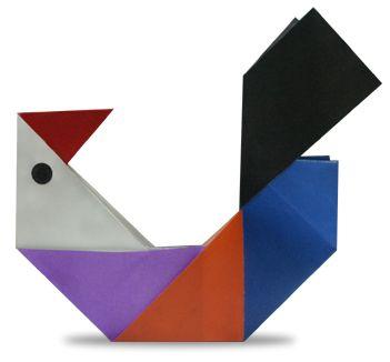 origami An Chicken