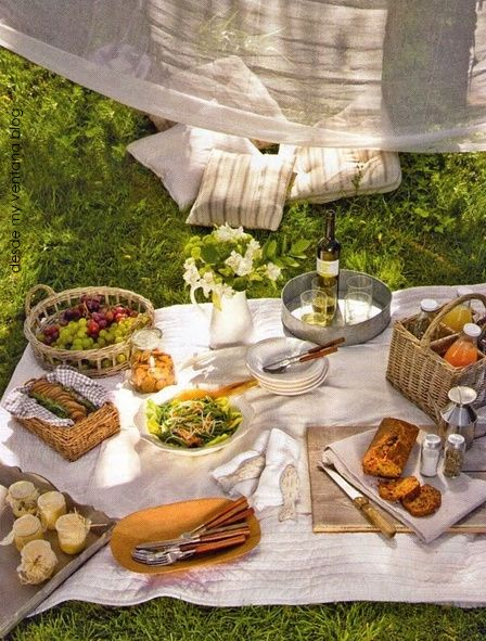 Decoración de picnic