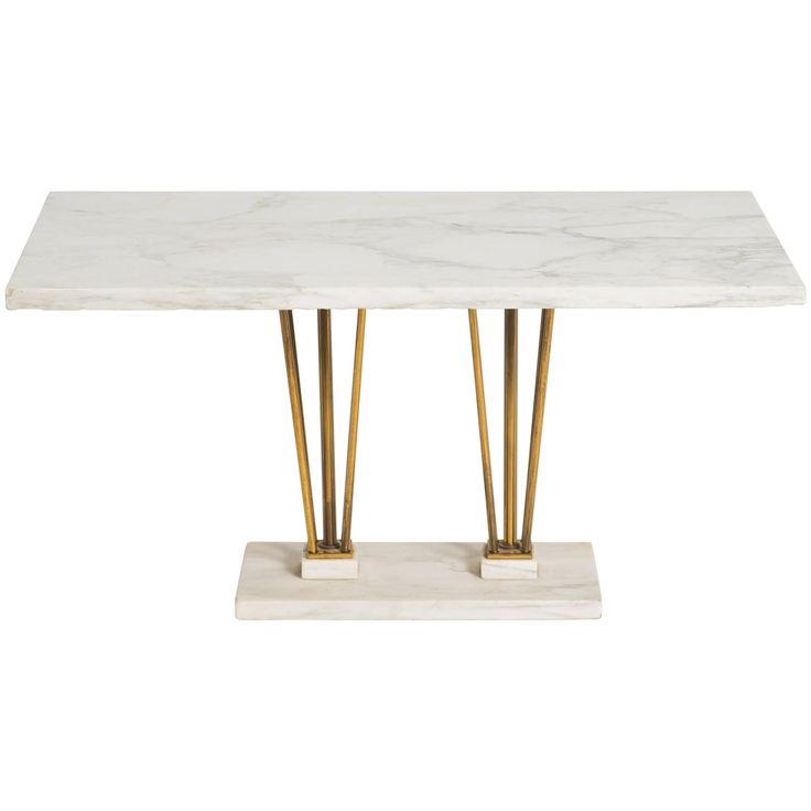 Great Brass And Marble Coffee Table Awesome Design